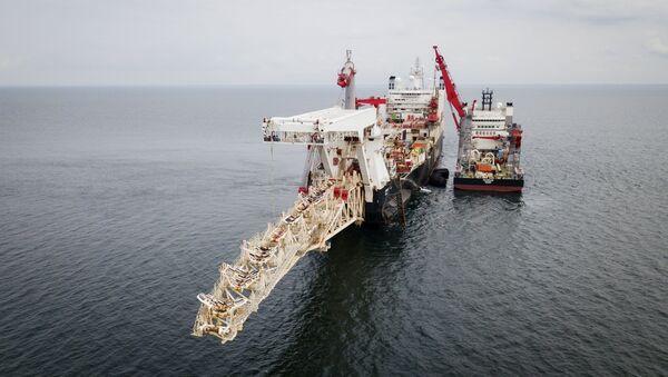 Nord Stream 2 gas pipeline installation - Sputnik International