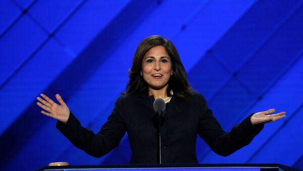 Center for American Progress Action Fund president Neera Tanden speaks on the third day of the Democratic National Convention in Philadelphia, Pennsylvania, U.S. July 27, 2016. - Sputnik International