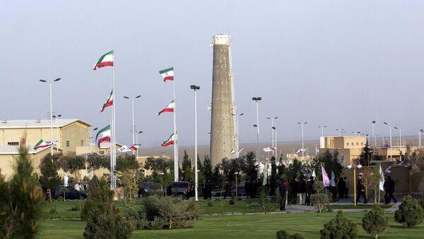Iran's nuclear enrichment facility in Natanz in 300 kms 186 (miles) south of capital Tehran, Iran (File) - Sputnik International