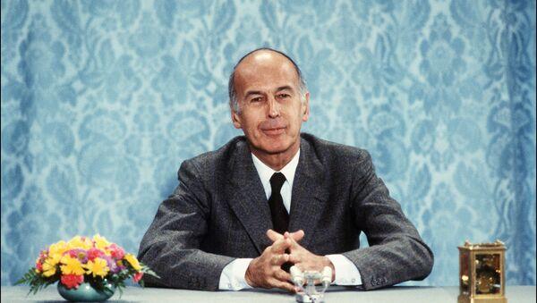 France's former President, Valerie Giscard d'Estaing, in 1980 - Sputnik International