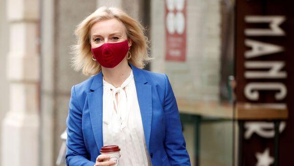 Britain's International Trade Secretary Liz Truss is seen in London - Sputnik International