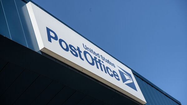 A sign is seen on a United States Postal Service (USPS) post office in Washington, DC, on August 18, 2020. - The US Postal Service said on August 18 it will halt changes blamed for slowing mail delivery until after the November election, changing course in the wake of the political firestorm President Donald Trump ignited when he acknowledged he wanted to undermine the agency. - Sputnik International