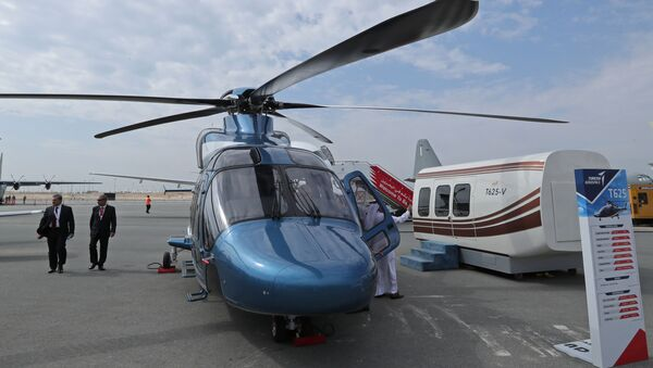 This picture shows a Turkish TAI T625 helicopter developed by Turkish Aerospace Industries during the 2018 Bahrain International Airshow (BIAS) at the Sakhir Airbase, south of the Bahraini capital Manama on November 14 2018.  - Sputnik International