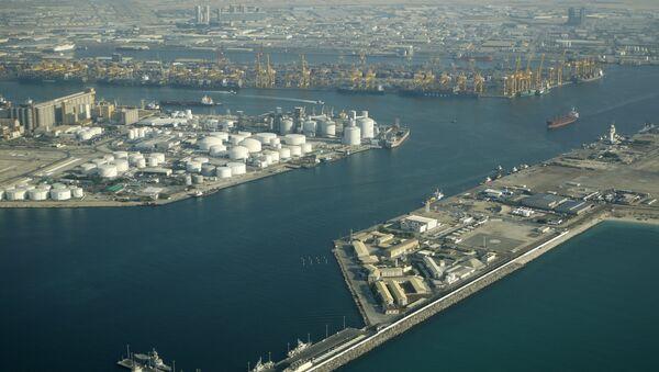 The free port of Jebel Ali in Dubai - Sputnik International