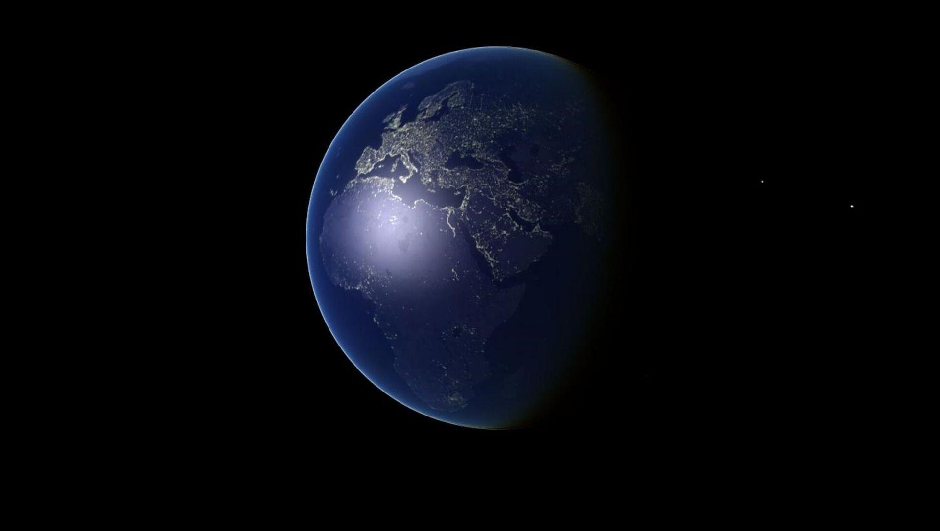 Earth Blue Planet Globe - Sputnik International, 1920, 05.08.2021