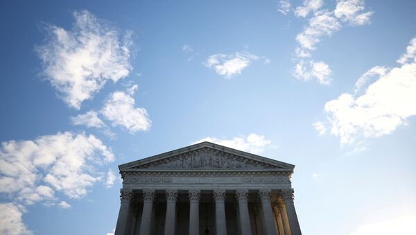 A general view of the U.S. Supreme Court building in Washington, U.S. November 10, 2020. - Sputnik International