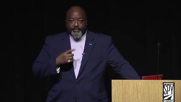 Former senior CIA agent Darrell Blocker speaking at the International Spy Museum in Washington, DC, in February 2020 - Sputnik International
