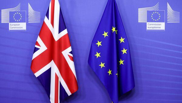 FILE PHOTO: EU Commission President von der Leyen and British PM Johnson meet in Brussels - Sputnik International