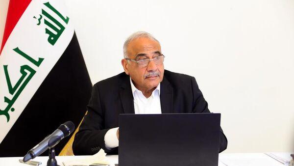 Former Iraqi Prime Minister Adel Abdul Mahdi - Sputnik International