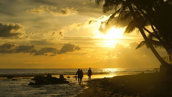 Beach sunset. - Sputnik International
