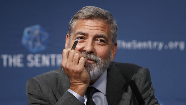 US actor and activist George Clooney speaks at a press conference about South Sudan in London, Thursday, 19 September 2019 - Sputnik International