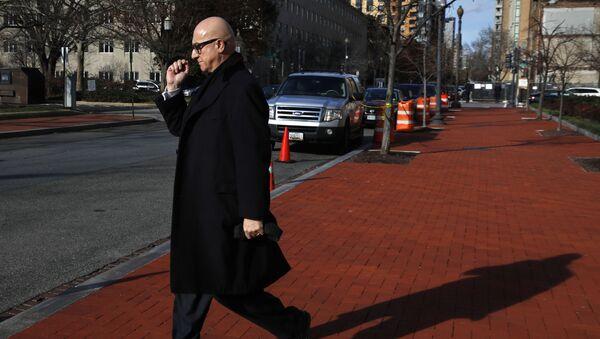 Bijan Kian, whose full name is Bijan Rafiekian, leaves the FBI Washington Field Office in Washington, Monday, Dec. 17, 2018 - Sputnik International