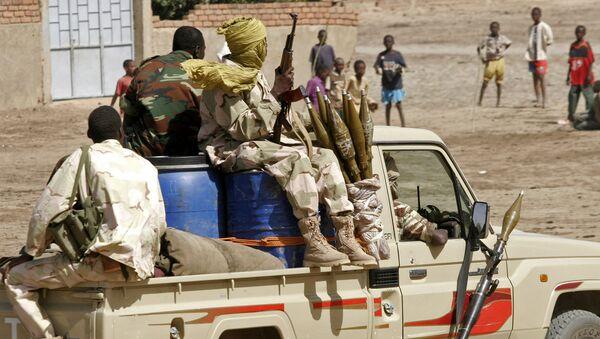 Chadian troops patrol the streets (File) - Sputnik International