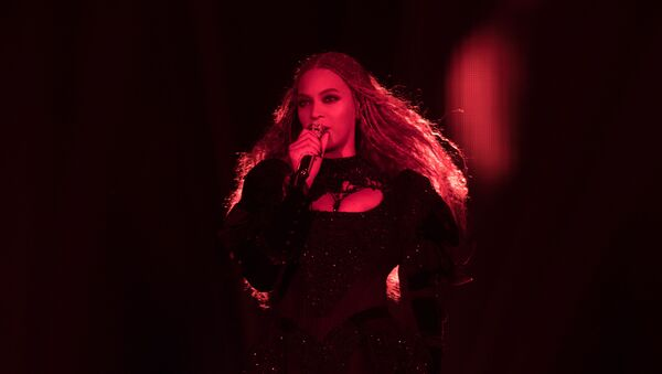 Beyonce performs during the Formation World Tour at Principality Stadium on 30 June 2016, in Cardiff, United Kingdom - Sputnik International