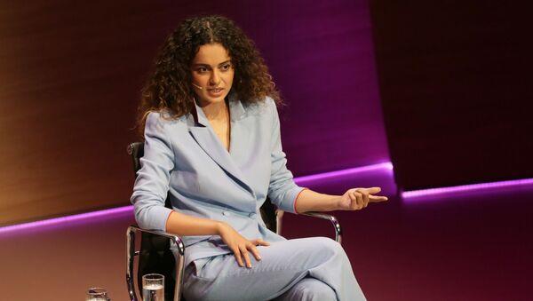 Bollywood actress Kangana Ranaut speaks during the Women in the World Summit at Cadogan Hall in London, Friday Oct. 9, 2015 - Sputnik International