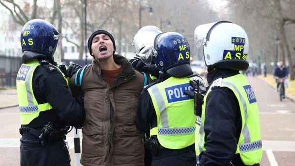 Anti lockdown protest in London - Sputnik International