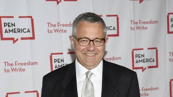Lawyer and author Jeffrey Toobin attends the 2018 PEN Literary Gala at the American Museum of Natural History on Tuesday, 22 May 2018, in New York. - Sputnik International