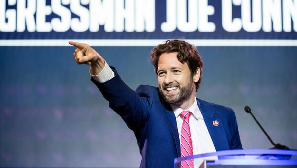Rep. Joe Cunningham (D-SC) addresses the crowd at the 2019 South Carolina Democratic Party State Convention on June 22, 2019 in Columbia, South Carolina. - Sputnik International