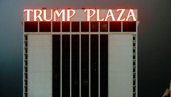 Implode Trump Plaza Atlantic City, NJ - Sputnik International