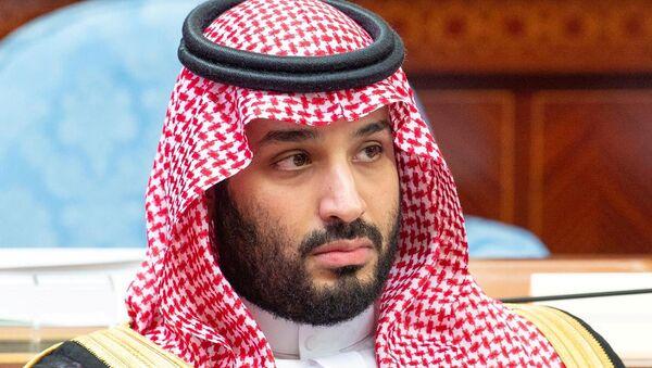Saudi Crown Prince Mohammed bin Salman attends a session of the Shura Council in Riyadh, Saudi Arabia November 20, 2019. - Sputnik International