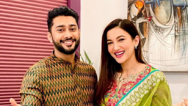 Gauahar Khan and  Zaid Darbar - Sputnik International