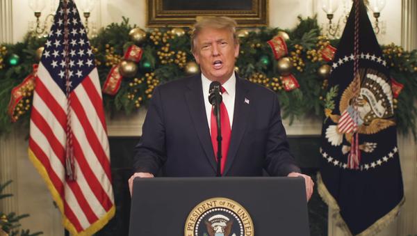 Trump blasts covid-19 relief bill - Sputnik International