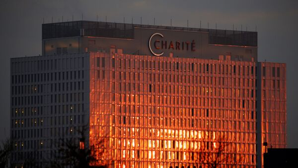 A sunrise view of Charite hospital in Berlin, Germany, December 8, 2020. - Sputnik International