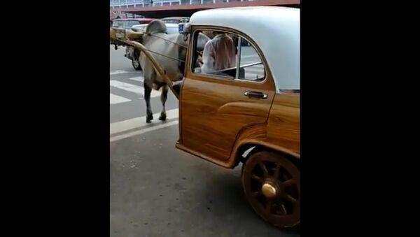 'Don't Think Elon Musk & Tesla Can Match It': Anand Mahindra's Post on Bullock Car Goes Viral - Sputnik International