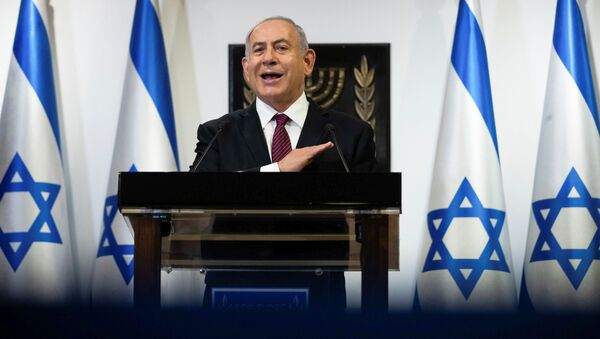 Israeli Prime Minister Benjamin Netanyahu delivers a statement at the Knesset (Israel's parliament) in Jerusalem, December 22, 2020. - Sputnik International