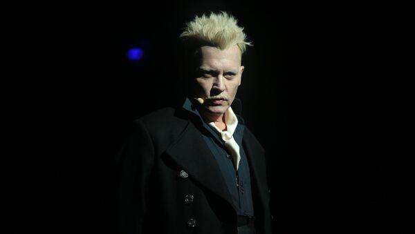 A photo of actor Johnny Depp  - Sputnik International