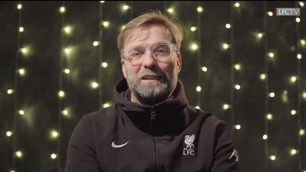 FC Liverpool's manager Jurgen Klopp delivers a Christmas message to fans on December 25, 2020 - Sputnik International