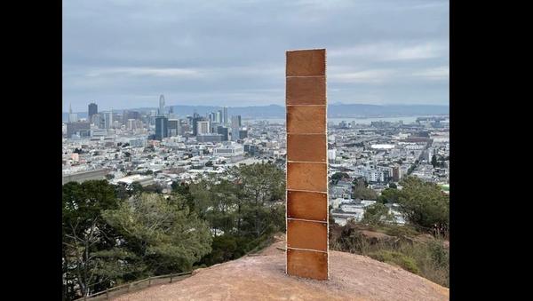 New monolith appears in San Francisco - Sputnik International