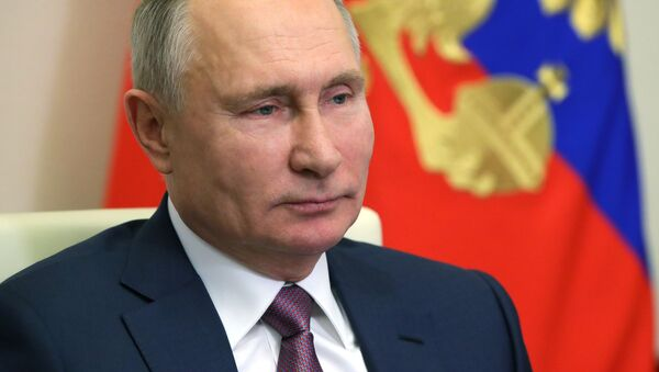 Russian President V. Putin congratulated members of the Russian government on the coming New Year - Sputnik International