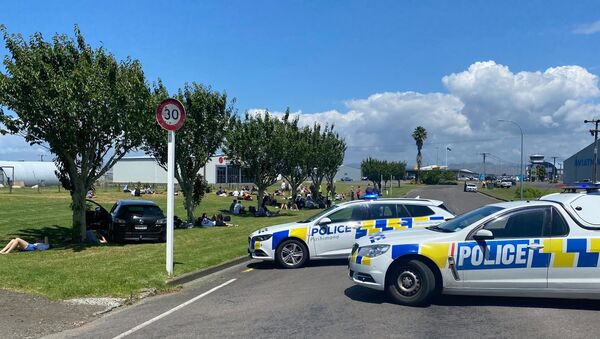 Airport of New Zealand's Gisborne Reports About Evacuation Over Bomb Threat on 1 January 2021. - Sputnik International