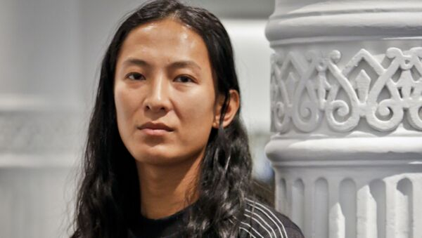 Fashion designer Alexander Wang poses in his studio Tuesday, Sept. 6, 2016, in New York. Wang will unveil his latest collection during Fashion Week, including his collaboration with Adidas-- adidas Originals by Alexander Wang, - Sputnik International