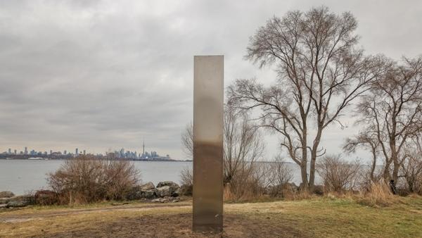 A mysterious monolith in Toronto, Canada - Sputnik International