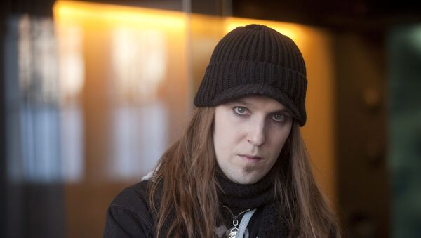 Alexi Laiho, a singer and guitarist of Finnish black metal band Children of Bodom, is seen in March 3, 2011 image. Picture taken March 3, 2011. - Sputnik International