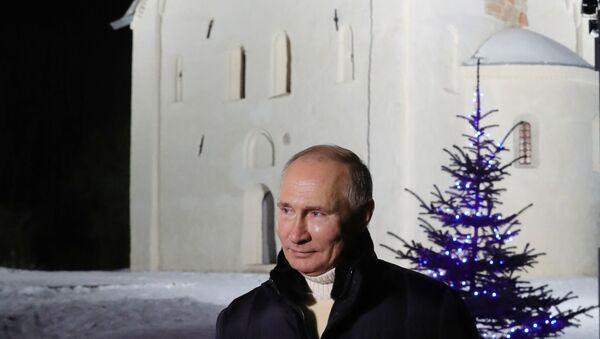 President Putin in Lipno - Sputnik International