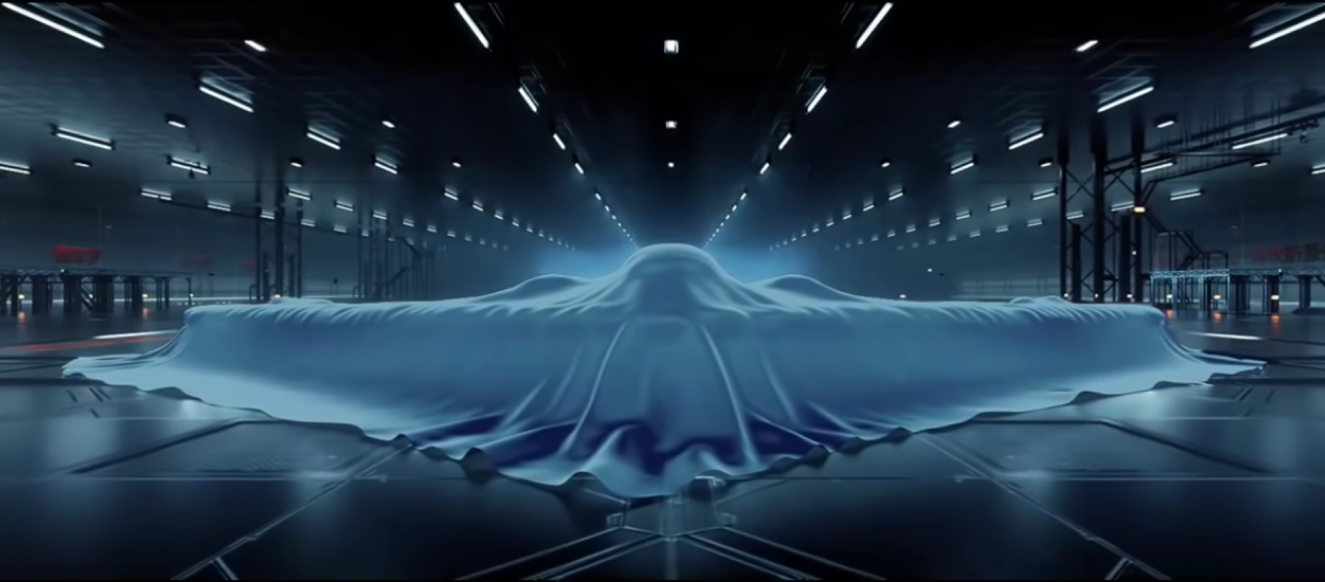 A teased image of China's forthcoming H-20 stealth bomber taken from a People's Liberation Army Air Force promotional video - Sputnik International, 1920, 09.01.2021