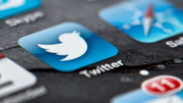In this Feb. 2, 2013, file photo, a smartphone display shows the Twitter logo in Berlin, Germany, Twitter unsealed the documents Thursday, Oct. 3, 2013, for its planned initial public offering of stock and says it hopes to raise up to $1 billion - Sputnik International