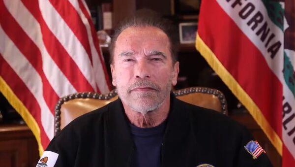 Arnold Schwarzenegger speaking on US Capitol siege on January 10, 2020 - Sputnik International