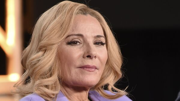 Kim Cattrall, who played Samantha Jones in Sex and the City - Sputnik International