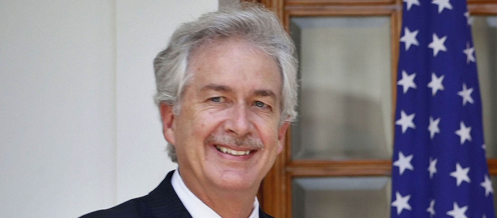 In this July 10, 2014 file photo, then U.S. Deputy Secretary of State William Burns, is shown in New Delhi, India.  President-elect Joe Biden has chosen veteran diplomat William Burns to be his CIA director. Biden made the announcement on Monday.  - Sputnik International, 1920, 10.08.2021