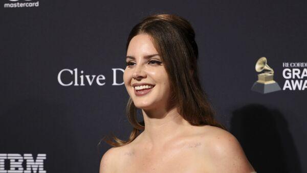 Singer Lana Del Rey - Sputnik International