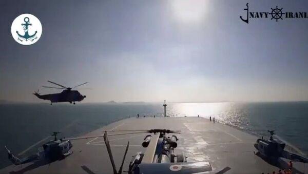 Makran helicopter carrier - Sputnik International