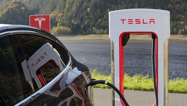 Tesla car - Sputnik International