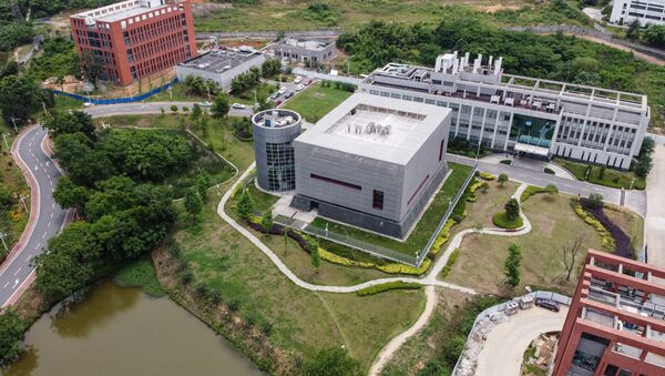 An aerial view of the P4 laboratory on the campus of the Wuhan Institute of Virology in China's central Hubei province on 13 May 2020. - Sputnik International
