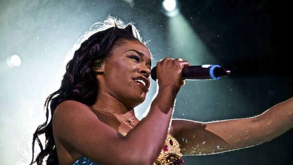 FILE - In this May 11, 2015 file photo, Azealia Banks performs in concert at Irving Plaza in New York. Banks, like Donald Trump, is outspoken and often criticized for her opinions - Sputnik International