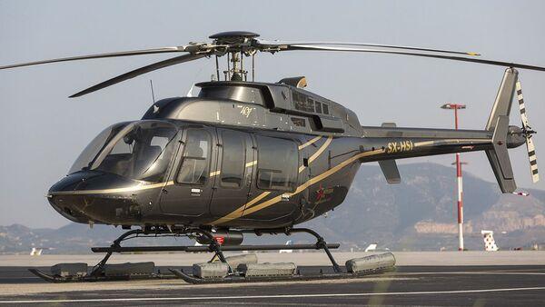 Bell 407 Helicopter - Sputnik International