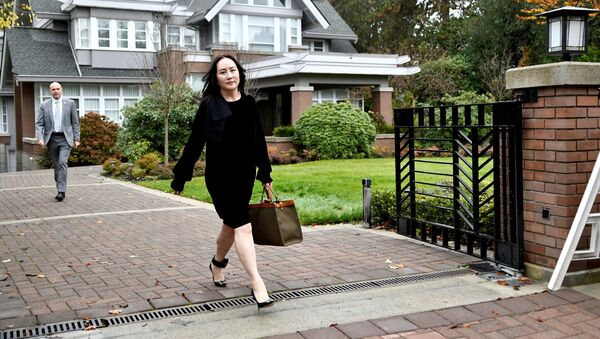 Huawei Technologies Chief Financial Officer Meng Wanzhou leaves her home to attend a court hearing in Vancouver, British Columbia, Canada November 16, 2020 - Sputnik International